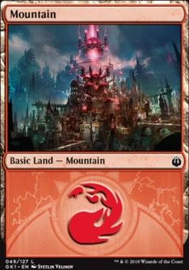 Guilds of Ravnica: Guild Kits: Mountain (049 A)