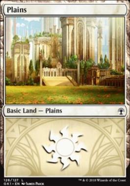 Guilds of Ravnica: Guild Kits: Plains (126 B)