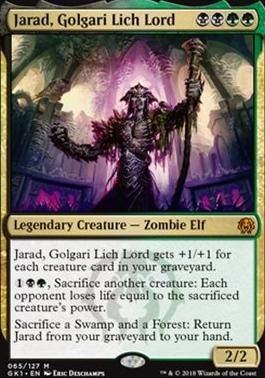 Guilds of Ravnica: Guild Kits: Jarad, Golgari Lich Lord