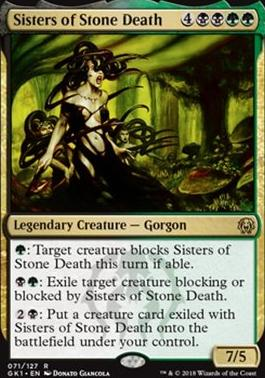 Guilds of Ravnica: Guild Kits: Sisters of Stone Death