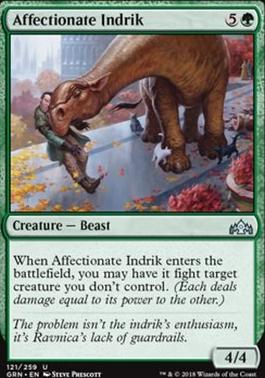 Guilds of Ravnica: Affectionate Indrik