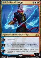 Guilds of Ravnica: Ral, Caller of Storms (Foil - Planeswalker Deck)