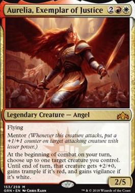 Guilds of Ravnica: Aurelia, Exemplar of Justice