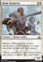 Guilds of Ravnica Foil: Blade Instructor