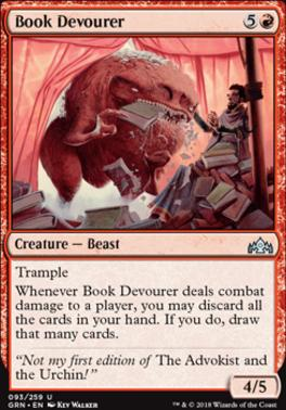 Guilds of Ravnica Foil: Book Devourer