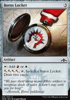 Guilds of Ravnica Foil: Boros Locket