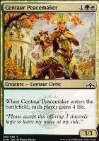 Guilds of Ravnica: Centaur Peacemaker