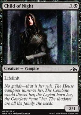 Guilds of Ravnica: Child of Night