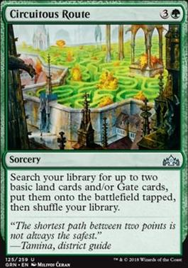 Guilds of Ravnica: Circuitous Route