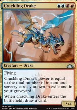 Guilds of Ravnica Foil: Crackling Drake