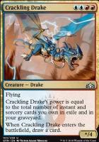 Guilds of Ravnica Foil: Crackling Drake