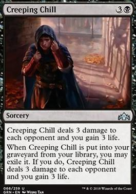 Guilds of Ravnica: Creeping Chill