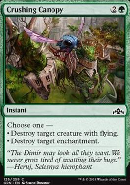 Guilds of Ravnica: Crushing Canopy