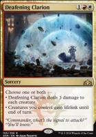 Guilds of Ravnica Foil: Deafening Clarion