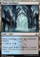 Guilds of Ravnica: Dimir Guildgate (245 A)