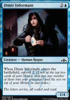 Guilds of Ravnica Foil: Dimir Informant