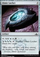 Guilds of Ravnica Foil: Dimir Locket