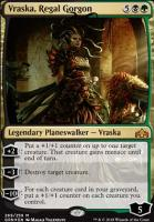 Guilds of Ravnica: Vraska, Regal Gorgon (Foil - Planeswalker Deck)