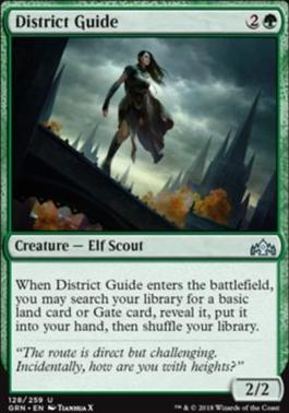 Guilds of Ravnica: District Guide