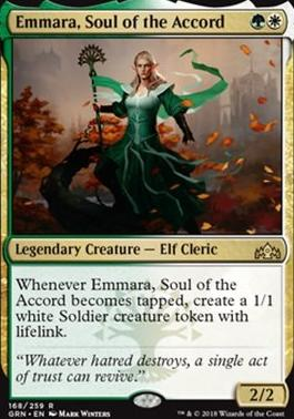 Guilds of Ravnica: Emmara, Soul of the Accord