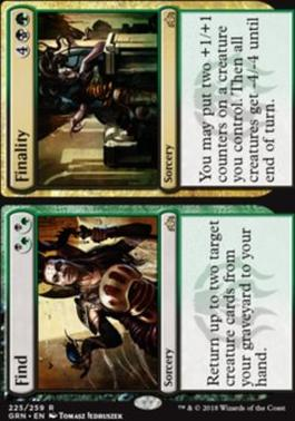 Guilds of Ravnica: Find // Finality