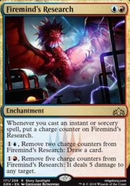 Guilds of Ravnica: Firemind's Research
