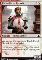 Guilds of Ravnica Foil: Fresh-Faced Recruit