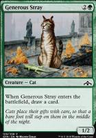 Guilds of Ravnica: Generous Stray
