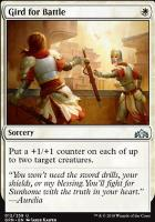Guilds of Ravnica: Gird for Battle