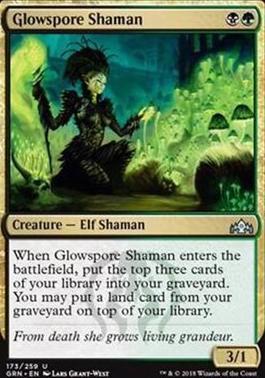 Guilds of Ravnica: Glowspore Shaman