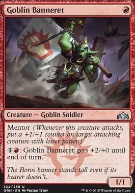 Guilds of Ravnica: Goblin Banneret