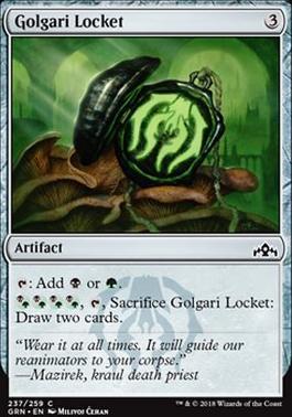 Guilds of Ravnica Foil: Golgari Locket