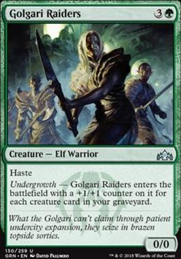 Guilds of Ravnica: Golgari Raiders
