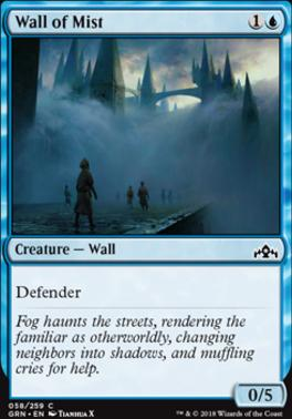 Guilds of Ravnica: Wall of Mist