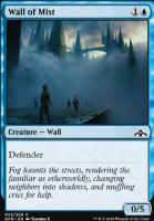 Guilds of Ravnica Foil: Wall of Mist