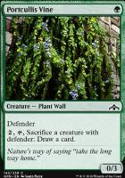 Guilds of Ravnica: Portcullis Vine