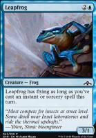 Guilds of Ravnica Foil: Leapfrog