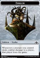 Guilds of Ravnica: Emblem (Vraska)
