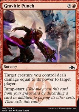 Guilds of Ravnica Foil: Gravitic Punch