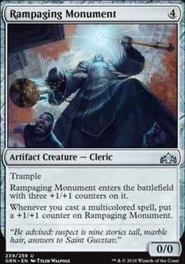 Guilds of Ravnica: Rampaging Monument