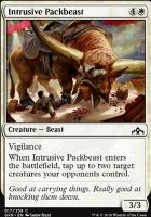 Guilds of Ravnica: Intrusive Packbeast