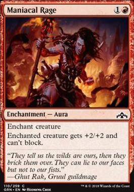 Guilds of Ravnica: Maniacal Rage
