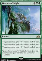 Guilds of Ravnica: Bounty of Might