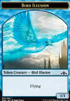 Guilds of Ravnica: Bird Illusion Token