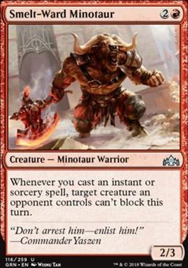 Guilds of Ravnica: Smelt-Ward Minotaur
