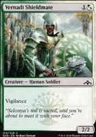 Guilds of Ravnica: Vernadi Shieldmate