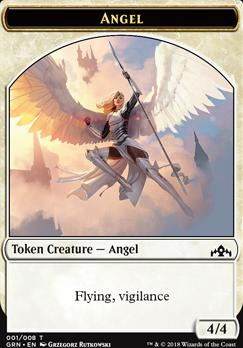 Guilds of Ravnica: Angel Token