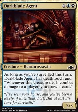 Guilds of Ravnica: Darkblade Agent