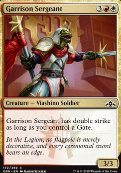 Guilds of Ravnica: Garrison Sergeant