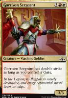 Guilds of Ravnica Foil: Garrison Sergeant